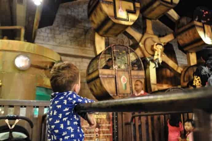 Magic Potion Spin at Universal Studios Singapore