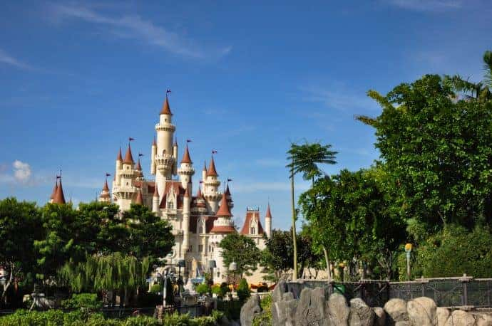 Rides suitable for toddlers at Universal Studios Singapore