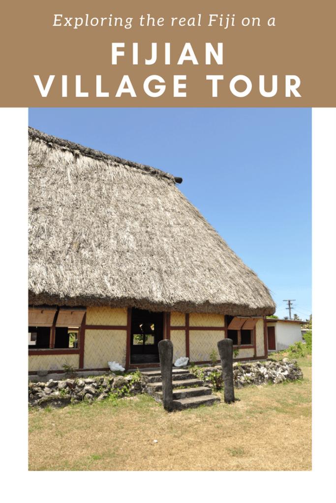 Fiji village tour. Review of a village tour in Fiji.