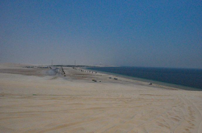 Sand Dunes Qatar