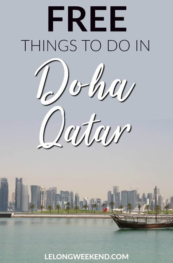 There are plenty of free things to do in Doha and Qatar. From visiting the souq, to scaling sand dunes, there's something to suit everyone in Doha. Things to do in Doha | Things to do in Qatar | Doha Attractions | Qatar Attractions | Free Doha Attractions | Doha Stopover | What to do in Doha | Doha Holiday #doha #qatar #middleeast