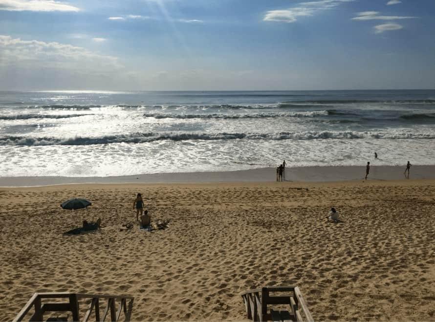 Mimizan plage. Landes beaches