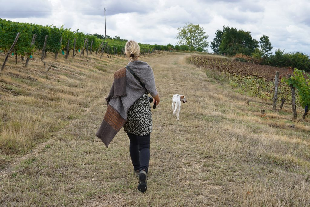 Tamsin walking. Health & Yoga Retreat France