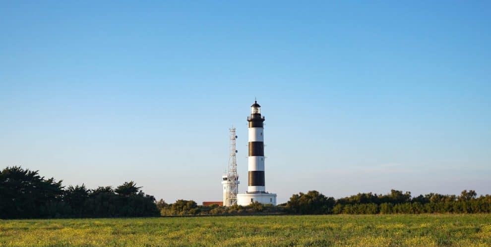 Chassiron lighthouse, Oleron Island, France. Phare De Chassiron, Ile d'Oleron