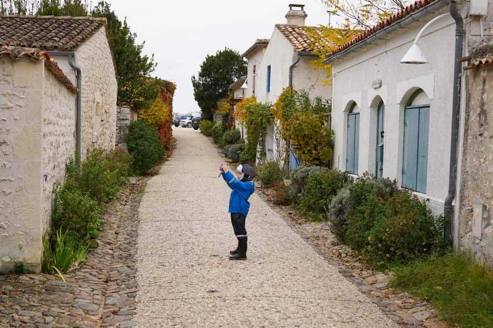 Streets of Talmont-sur-Gironde