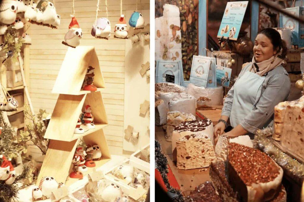 Giftware sold at the Nantes Christmas Markets
