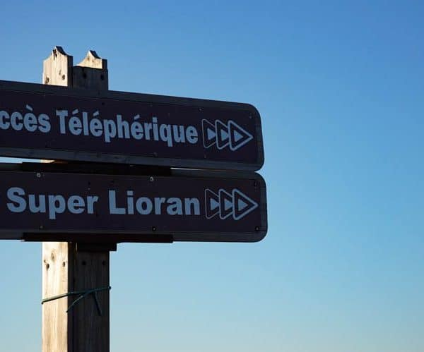 Le Lioran Ski Station, Cantal, Central France