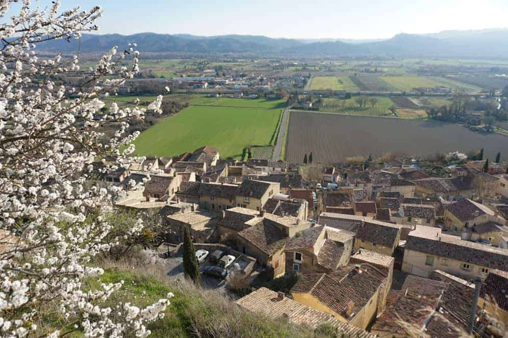 Village of Cadenet, Provence, France
