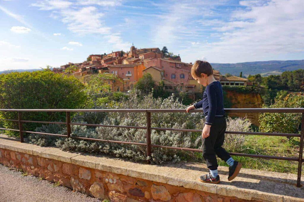 Le Sentier des Ocres de Roussillon, Provence