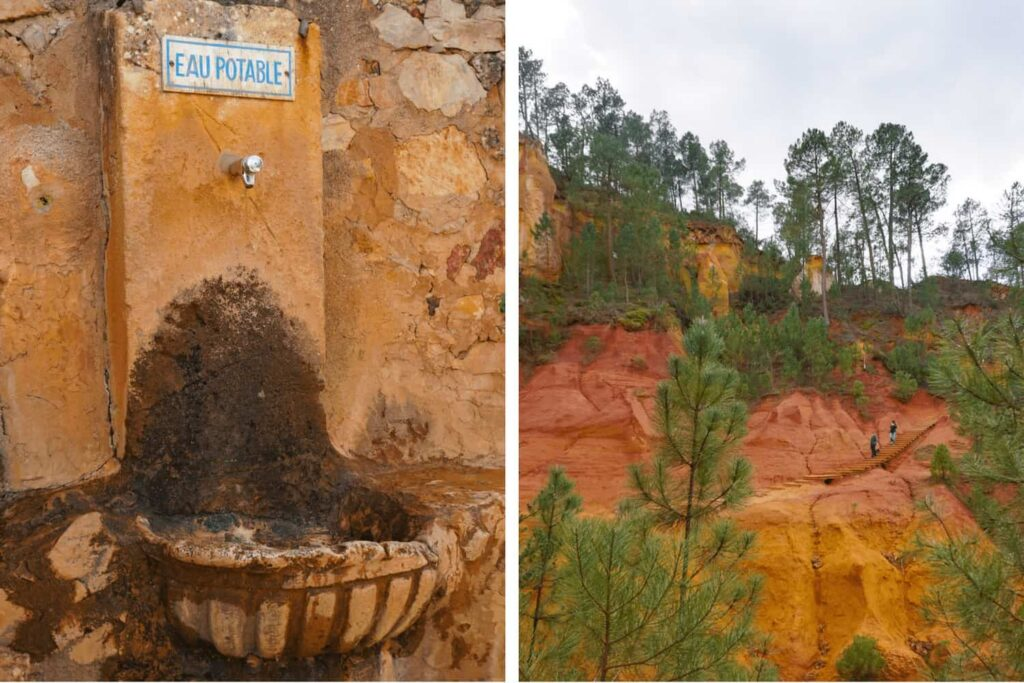 Tips for visiting the ochre trail in France with kids