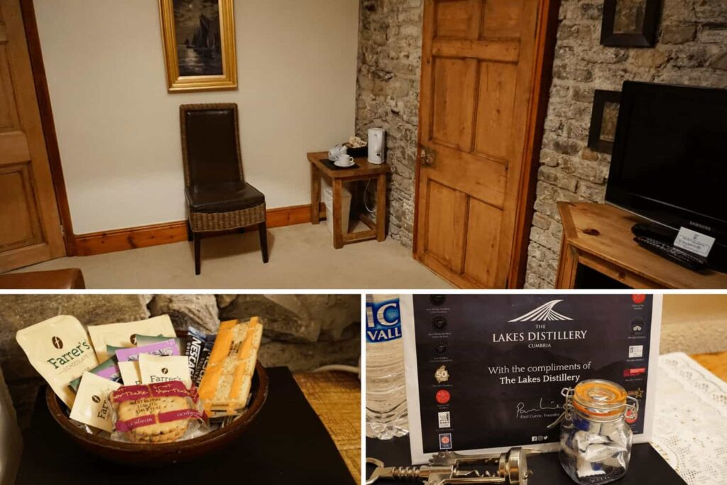 Family accommodation in the Lake District. Graysonside guest house review.