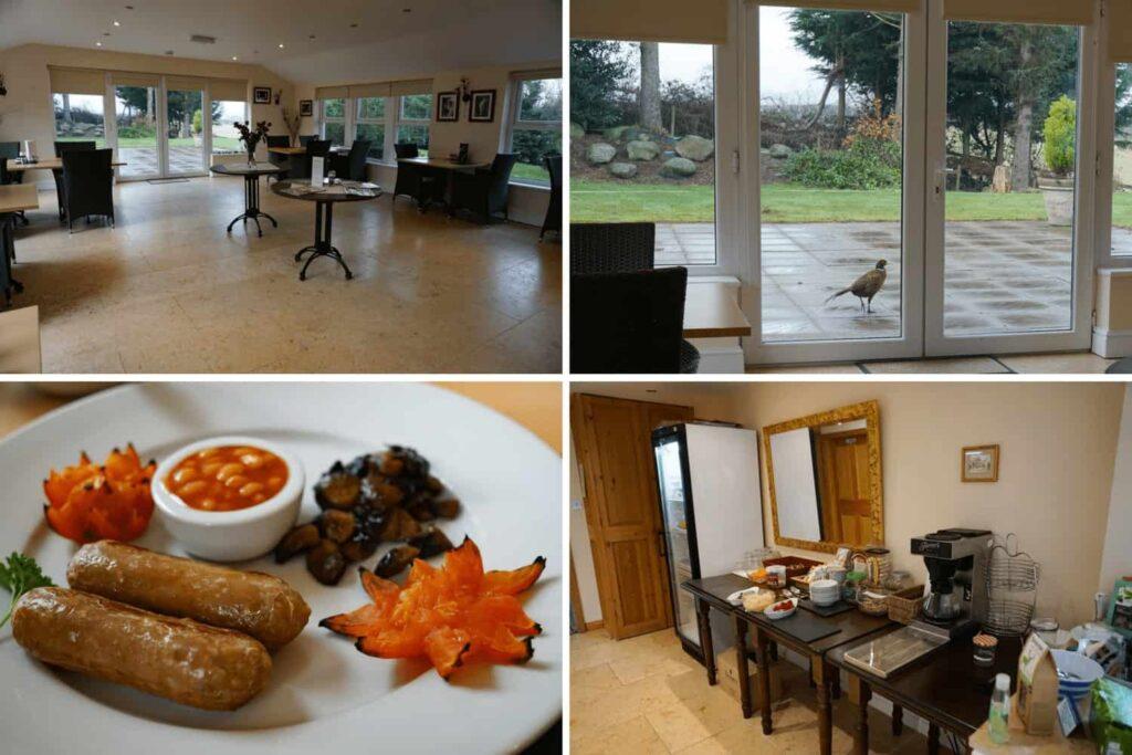 Breakfast at Graysonside guest house, luxury B&B in Cockermouth, uk.