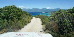 Getting to Saleccia Beach in Corsica with Saleccia Off Road