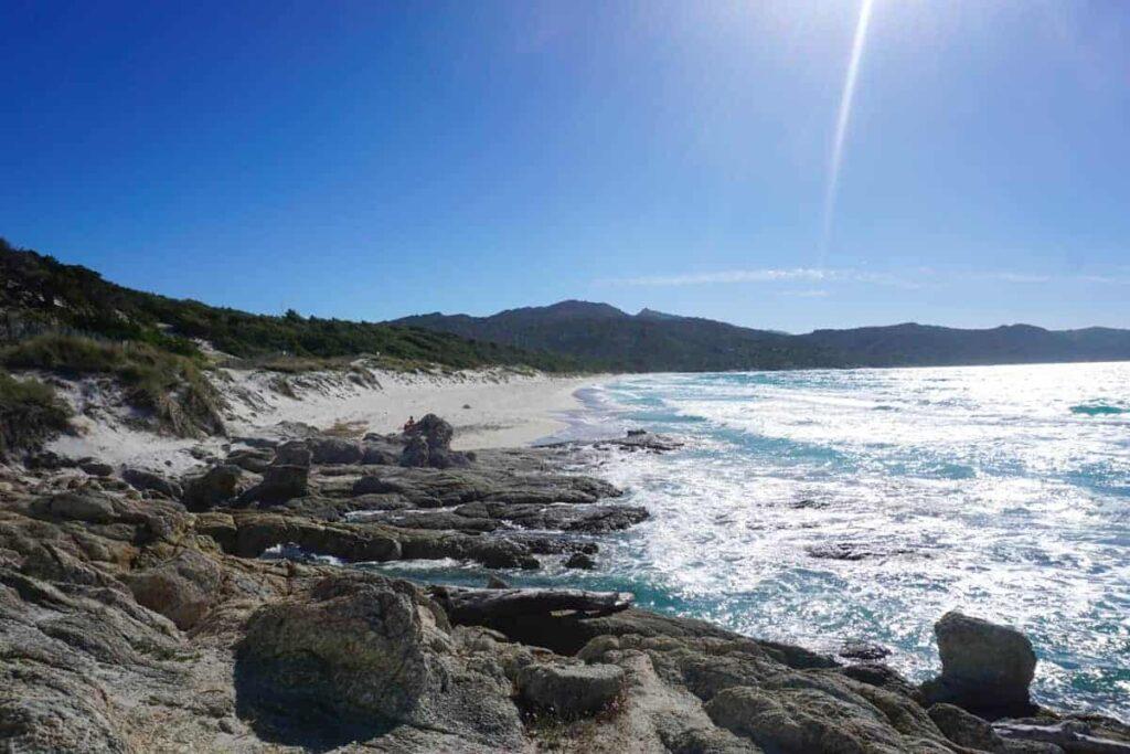 Plage de Saleccia, Corsica, France. How to get to Saleccia Beach