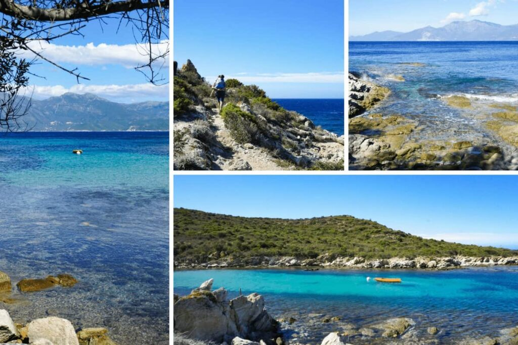 Best beaches in Corsica, Loto and Saleccia Beach in northern Corsica/.