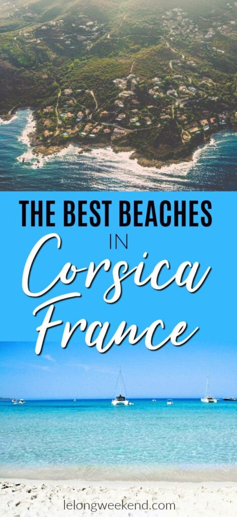 A guide to Corsica's best beaches. Find out where they are and how to get to Saleccia & Loto beaches. #france #corsica #beaches