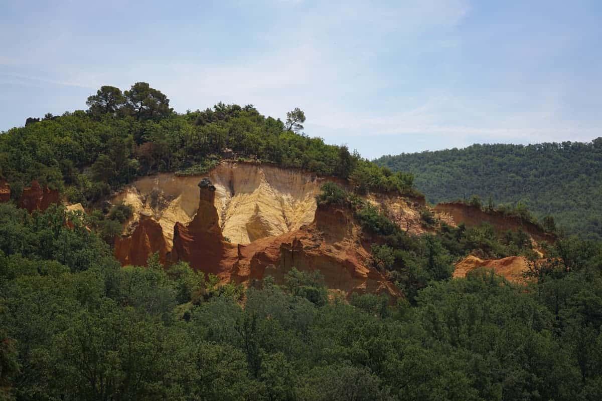The Colorado Provencal in Rustrel, Provence.
