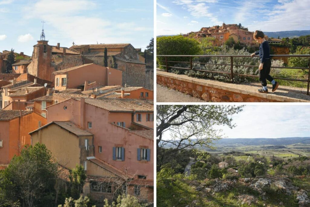 Visiting Roussillon en Provence, one of France's most beautiful villages.