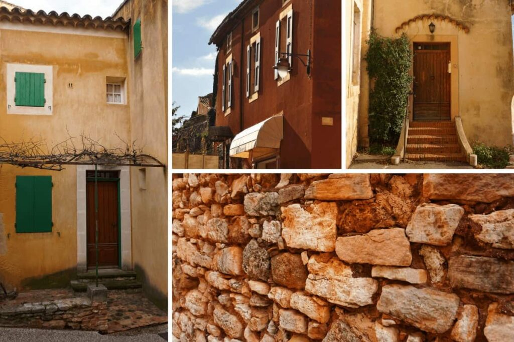 What to see in Roussillon en Provence, France - one of France's most beautiful villages.