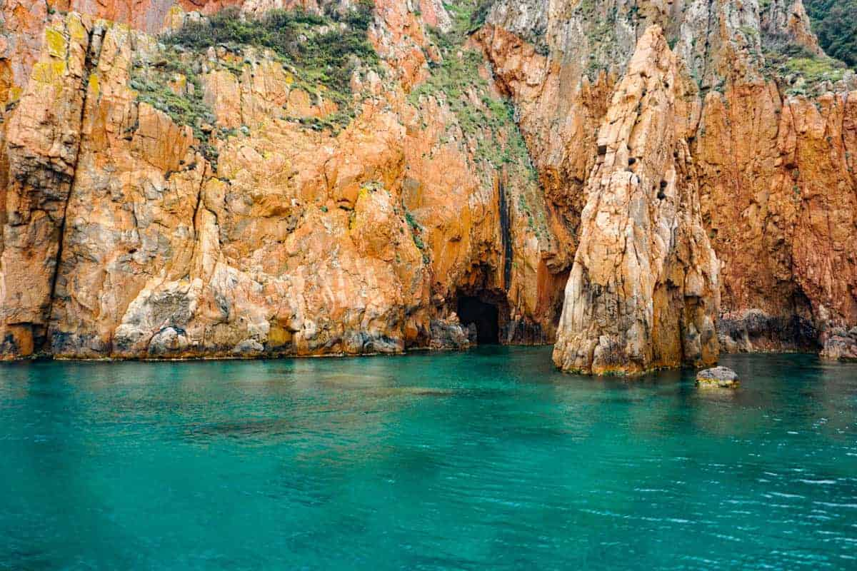 Cruising with Corse Emotion. Boat trip to the Calanques di Piana in Corsica.