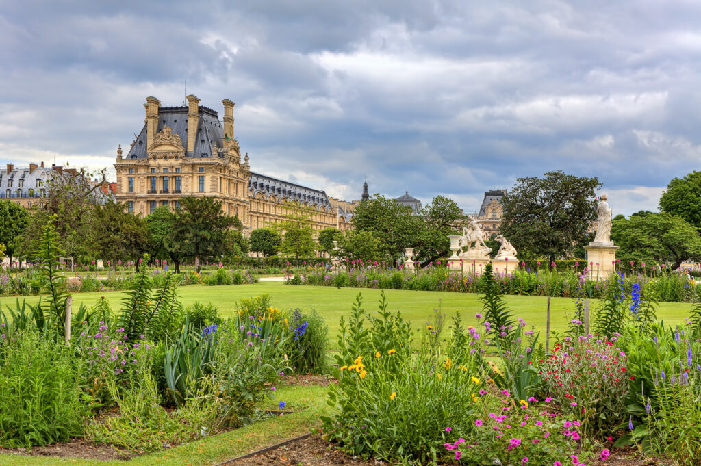 Visit Tuileries Garden on your walking tour of Paris, France