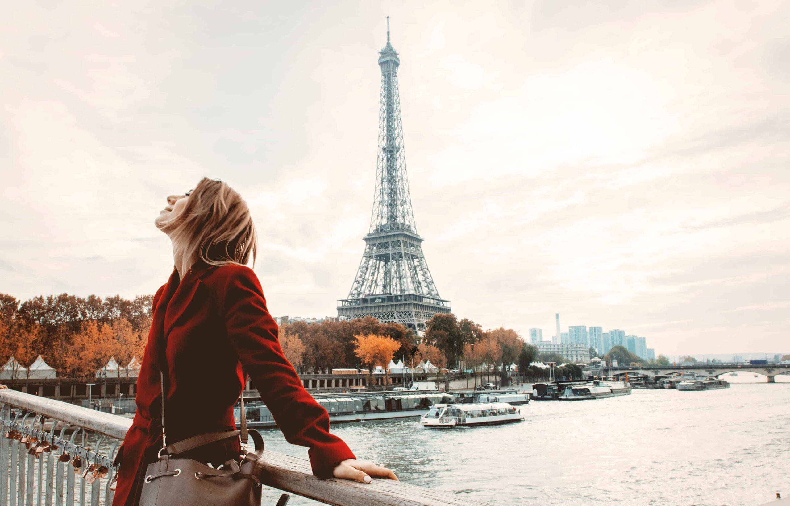 One day in Paris. Walking Tour of Paris.
