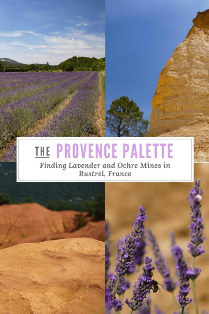Looking for the archetypal Provence experience? Visit Rustrel, a petite village tucked into the heart of the Luberon Natural Park in Provence, France. You'll find fields bursting with lavender, and the legendary Ochre mines that played a huge part in the history of this area of France.