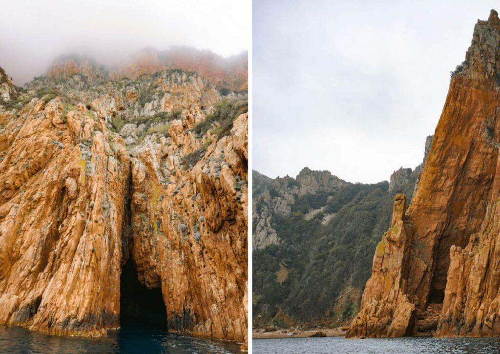 Cruising the Calanche di Piana with Corse Emotion. Boat trip in Corsica.