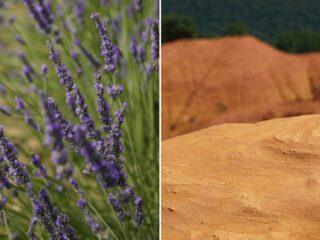 Rustrel, Provence - Home to lush lavender fields and the Colorado Provencal.
