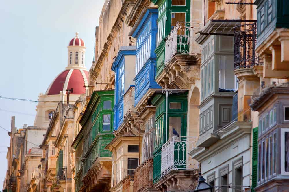 Where to go on holiday in winter. Valletta, Malta