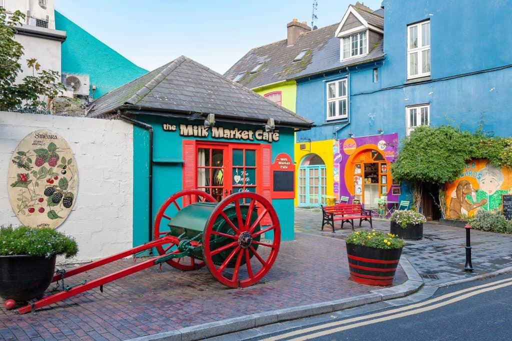 The village of Kinsale in County Cork, Republic of Ireland
