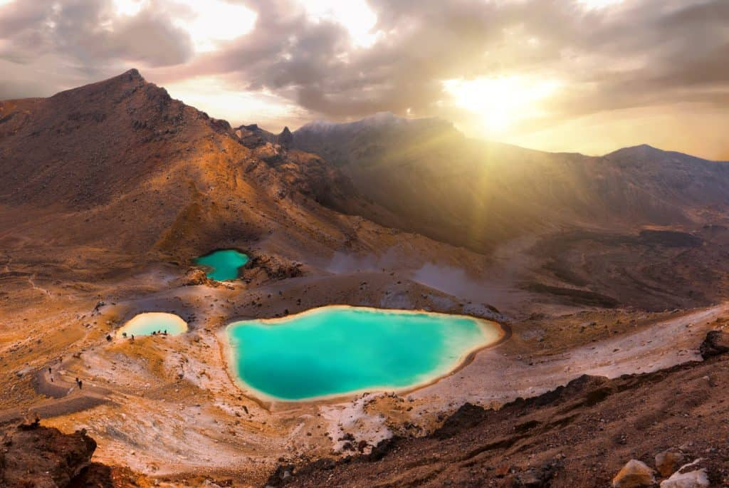 The Tongariro Crossing is part of the Tongariro Northern Circuit - One of New Zealand's Great Walks