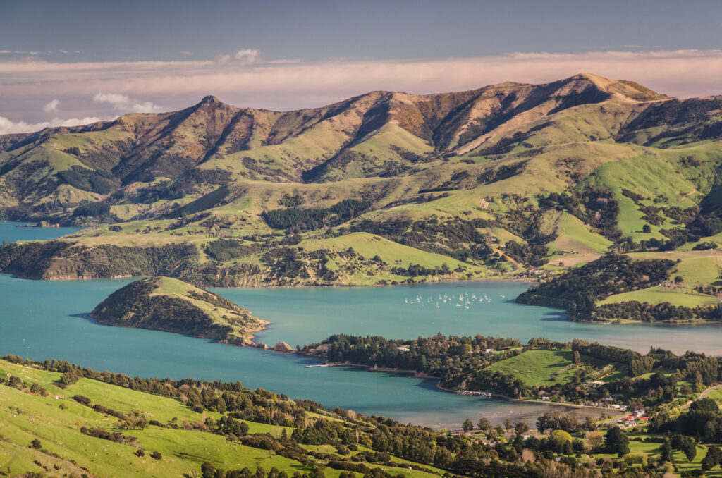 Quail Island near Christchurch, New Zealand