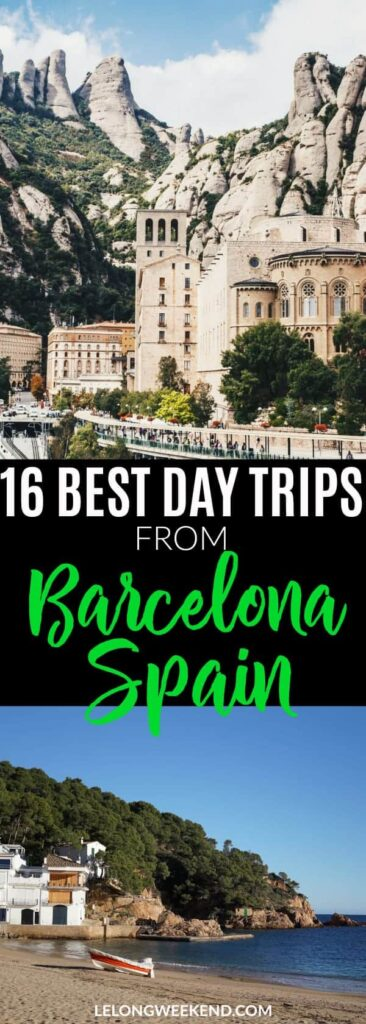 Looking for the best day trips from Barcelona? We've compiled the ultimate list to help you make the most of your holiday in Catalonia! #spain #barcelona #travel #europe