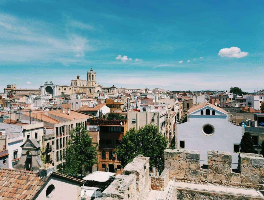 Tarragona, near Barcelona is an excellent day trip to see the city's cultural heritage.