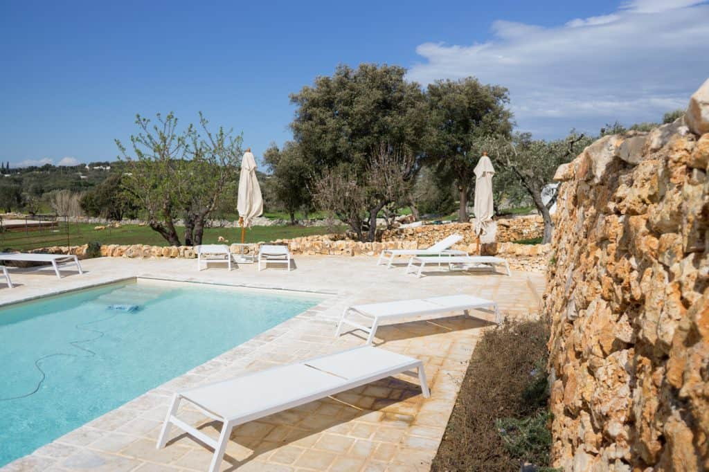 villa to rent with pool in Puglia