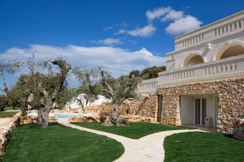 Luxury villa in Puglia - review of Corte dei Messapi
