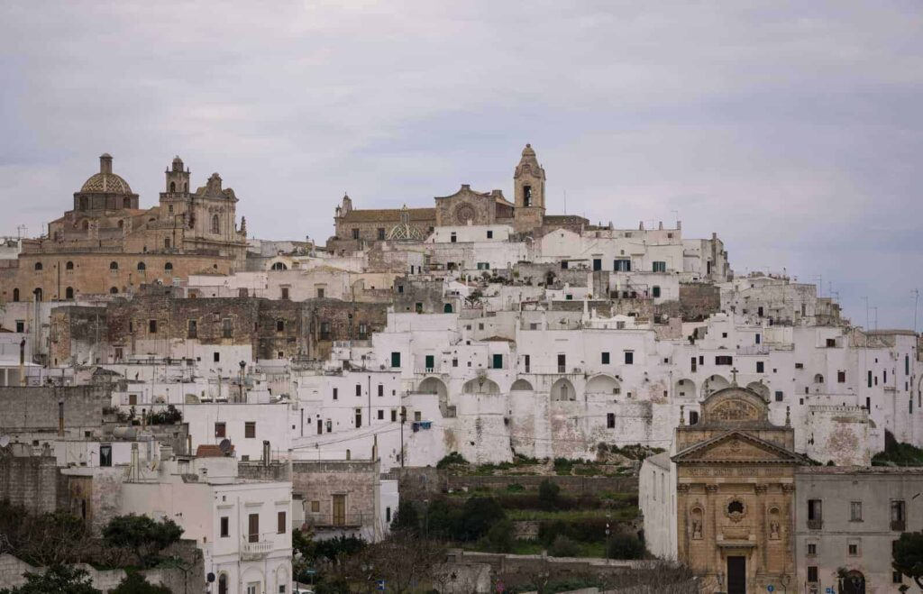 Best towns in Puglia Italy. Things to do in Ostuni.