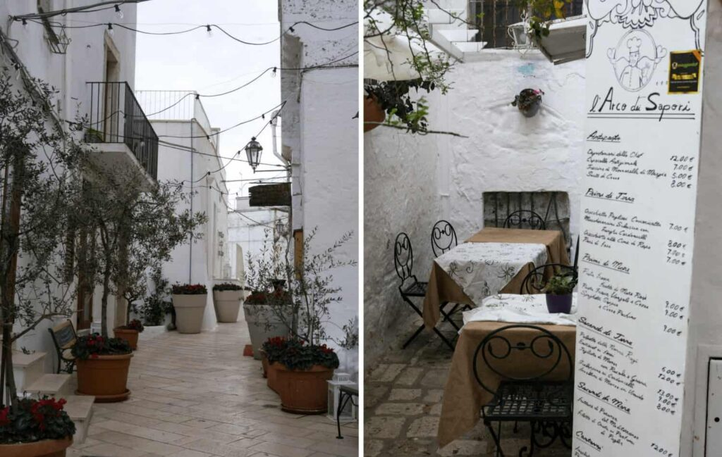 Where to stay in Puglia. Ostuni accommodation.