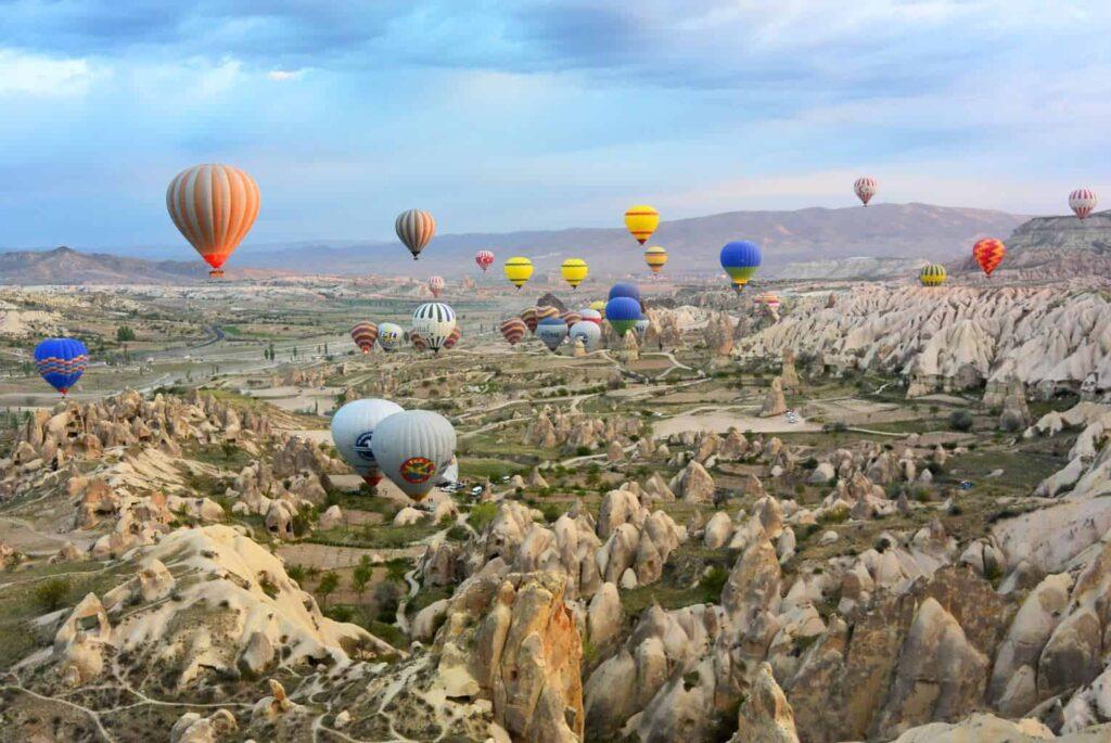 Hot Air Ballooning in Cappadocia, Turkey. Top Reasons to visit Turkey in 2018.
