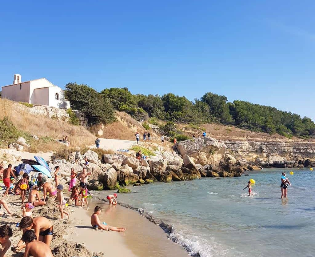 Sainte Croix Beach is a great day trip from Aix en Provence