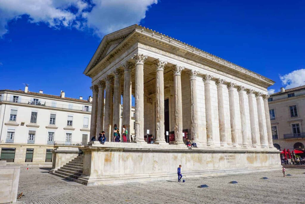 Nimes is one of the best day trips from Avignon.