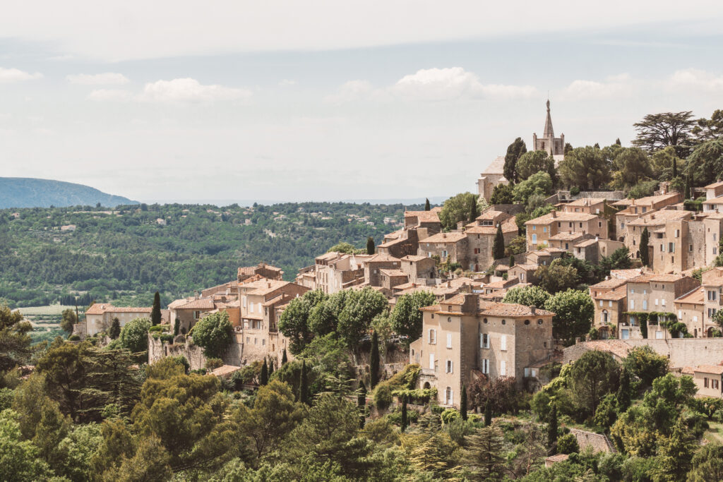 The village of Bonnieux in the Luberon, Provence, France