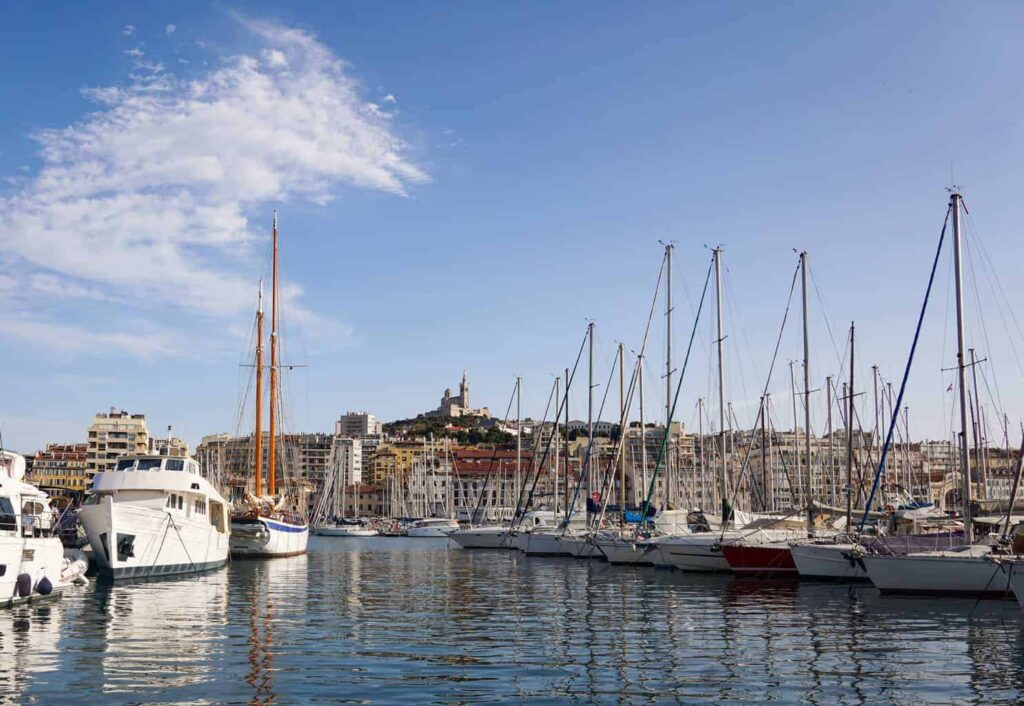 Marseille in Provence makes a great day trip from Aix-en-Provence