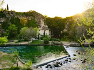 The best day trips from Avignon, France.