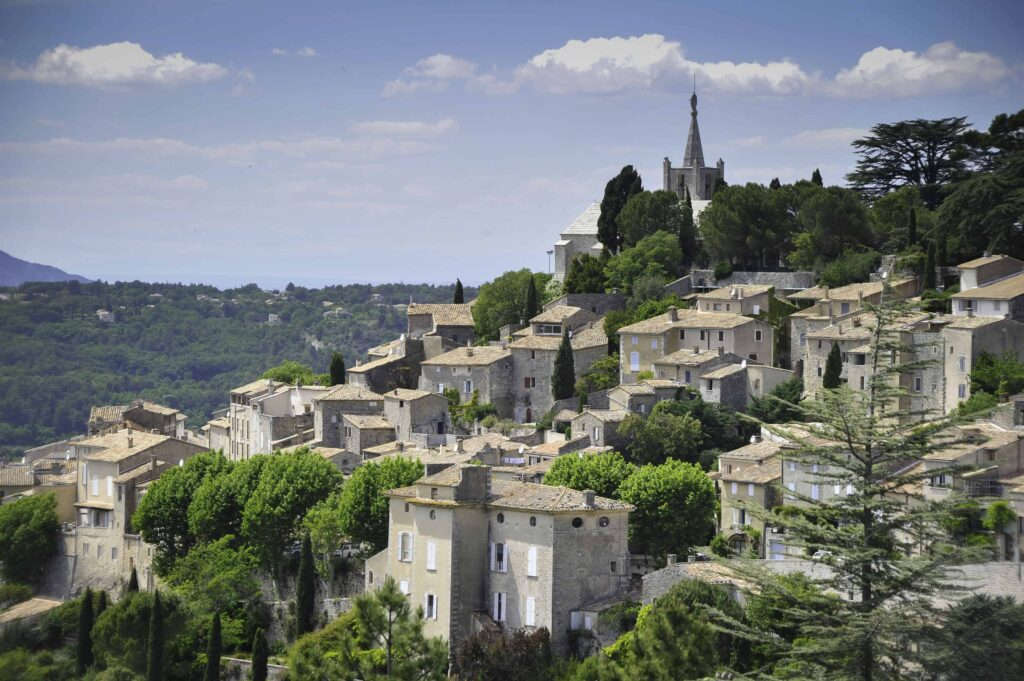 Most beautiful villages in Provence, France. Best Provence Villages