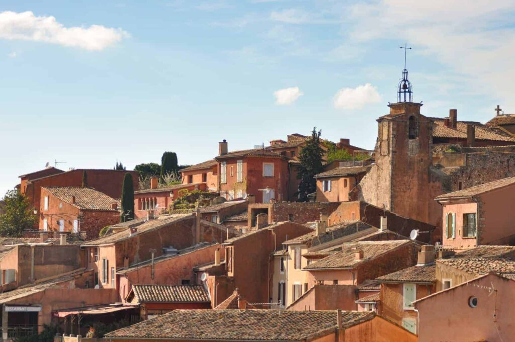 The village of Roussillon makes a great day trip from Aix-en-Provence