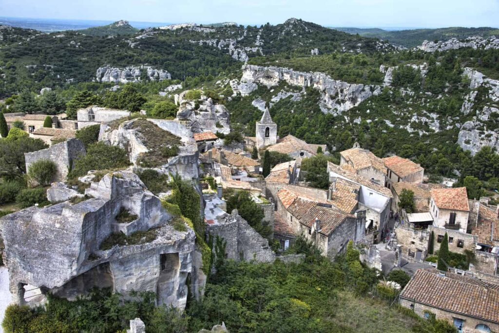 Les Baux de Provence is one of the best day trips from Avignon, France