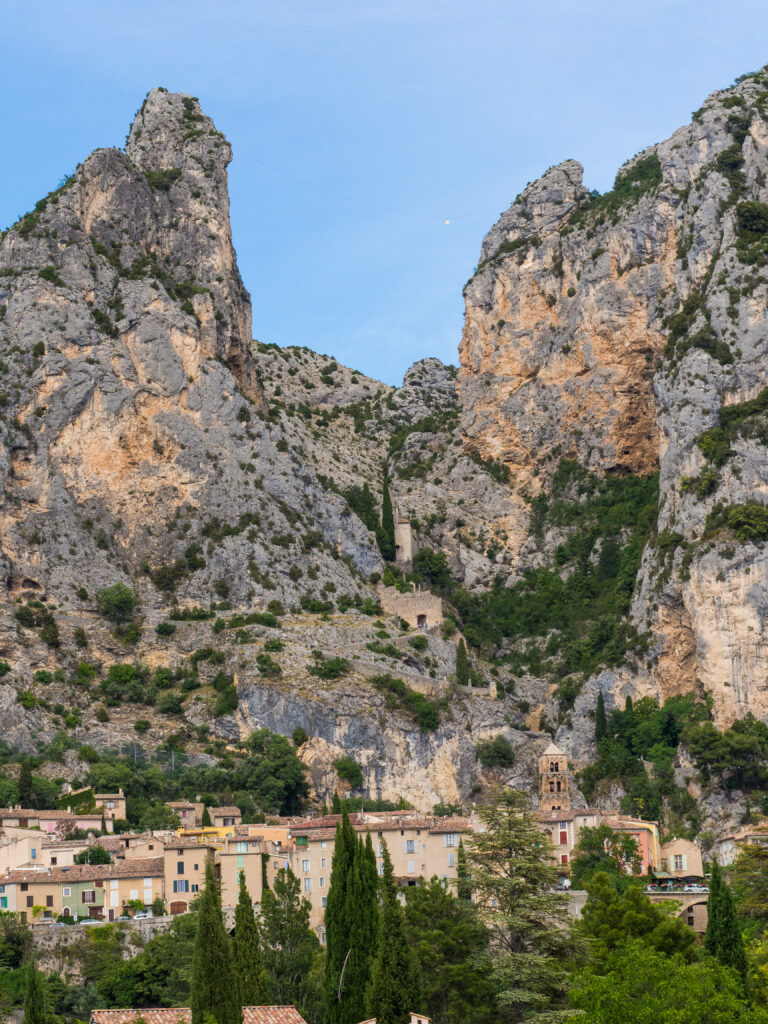 Moustiers Sainte Marie in Provence, France