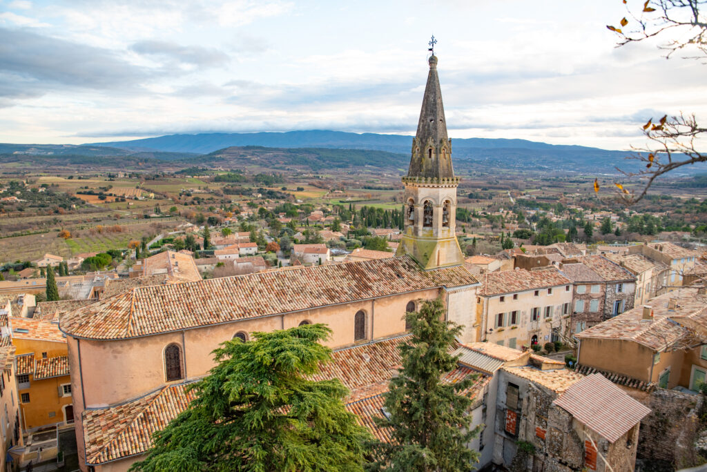 Saint-Saturnin-lès-Apt is one of the most beautiful villages in Provence France